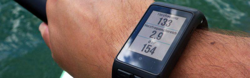 Test: Garmin vivoactive HR – Smartwatch mit SUP-Funktion