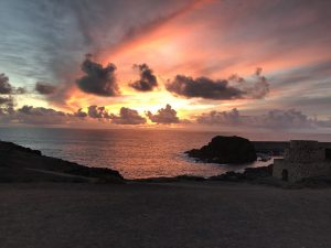 Sonnenuntergang in El Cotillo (Foto: T. Pfannkuch)