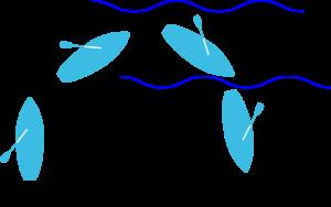 Erläuterung SUP Wellenreiten - Anpaddeln (Grafik: T. Pfannkuch)