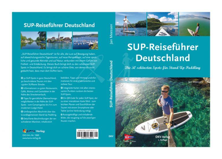 SUP Reiseführer Deutschland - Cover (Bildquelle: Jan Meessen / DKV)