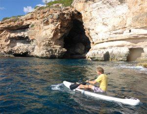 Gemeinsame Tour mit Jan Meessen vor der Küste Mallorcas (Bildquelle: T. Pfannkuch)