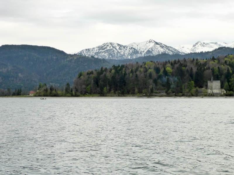 Traumhafte Bergkulisse am Walchensee (Foto: T. Pfannkuch)