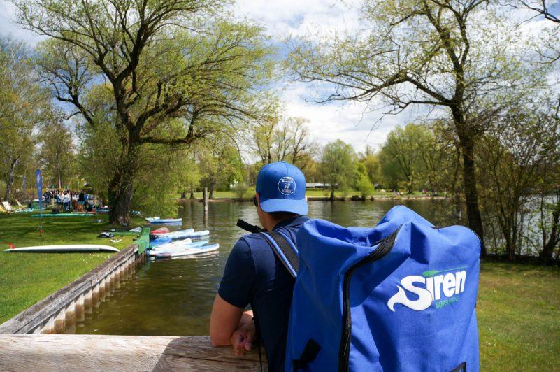 #BloggerSUP am Starnberger See (Foto: Thomas Pfannkuch / SUPmatrose.de)