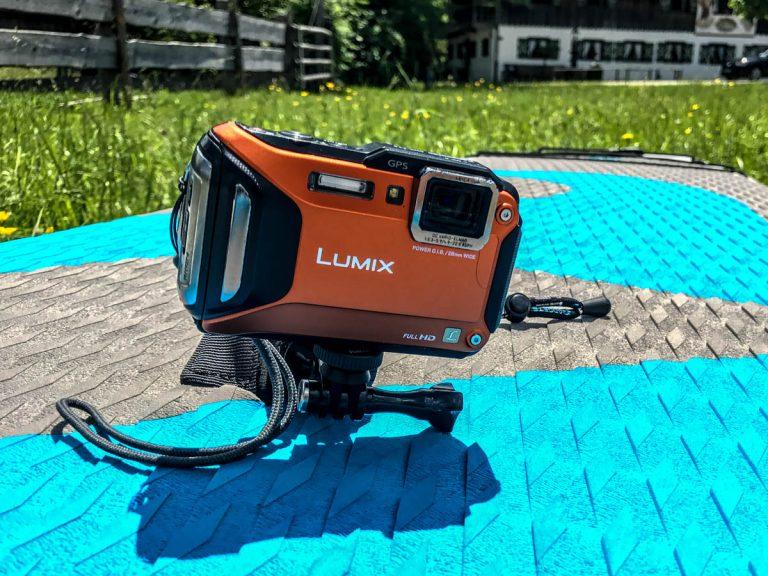 SUP-Kameraausrüstung: Panasonic DMC-FT-5 (Foto: T. Pfannkuch / SUPmatrose.de)