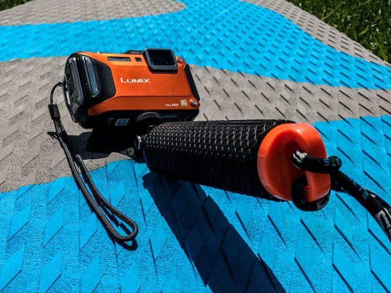 SUP-Kameraausrüstung: POV Dive Buoy von SP Gadgets (Foto: T. Pfannkuch / SUPmatrose.de)