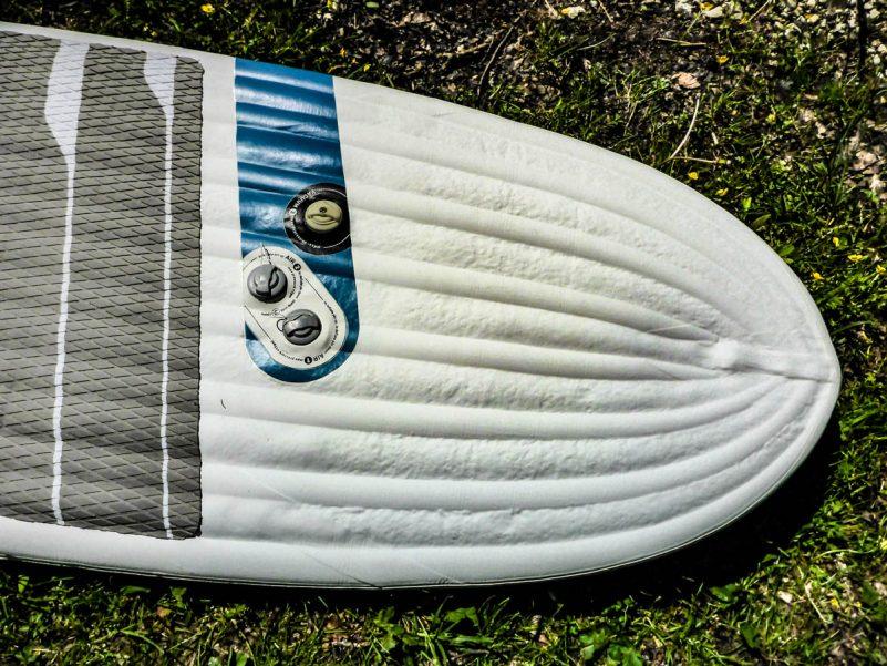 Tripstix Surfboard (Foto: T. Pfannkuch / SUPmatrose.de)