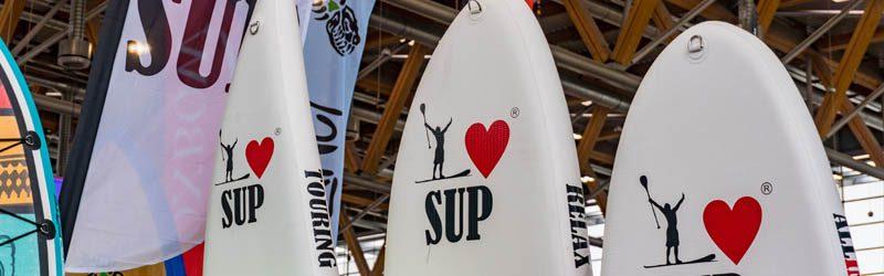 SUP-Neuheiten 2018 – frisch von der Paddle Expo