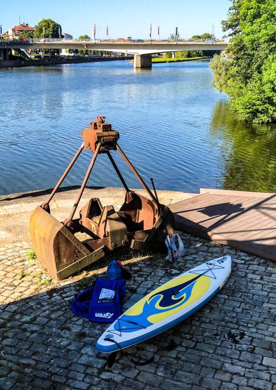 Überall einsatzbereit: Inflatable SUP Boards (Foto: Thomas Pfannkuch)