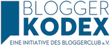 Bloggerclub Bloggerkodex