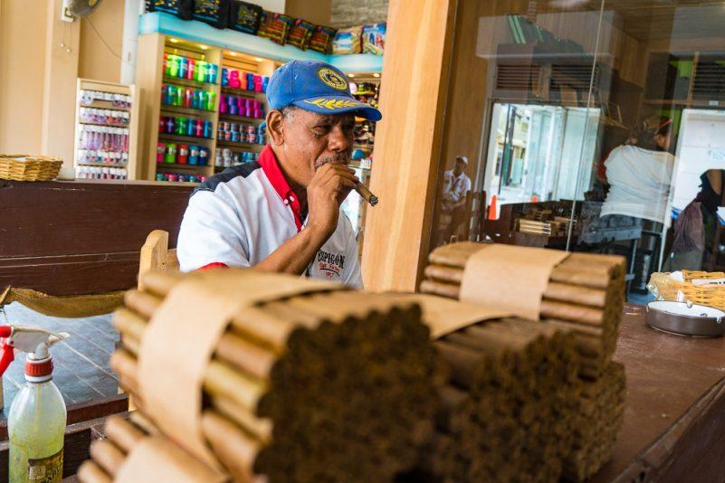 Zigarrenfabrik Espigon in Puerto Plata (Foto: T. Pfannkuch)