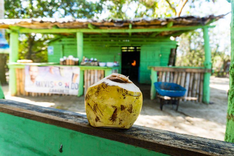 Wilson Bar - Ziel der SUP Flusstour (Foto: T. Pfannkuch)