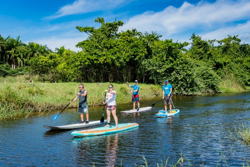 SUP Flusstour (Foto: T. Pfannkuch)