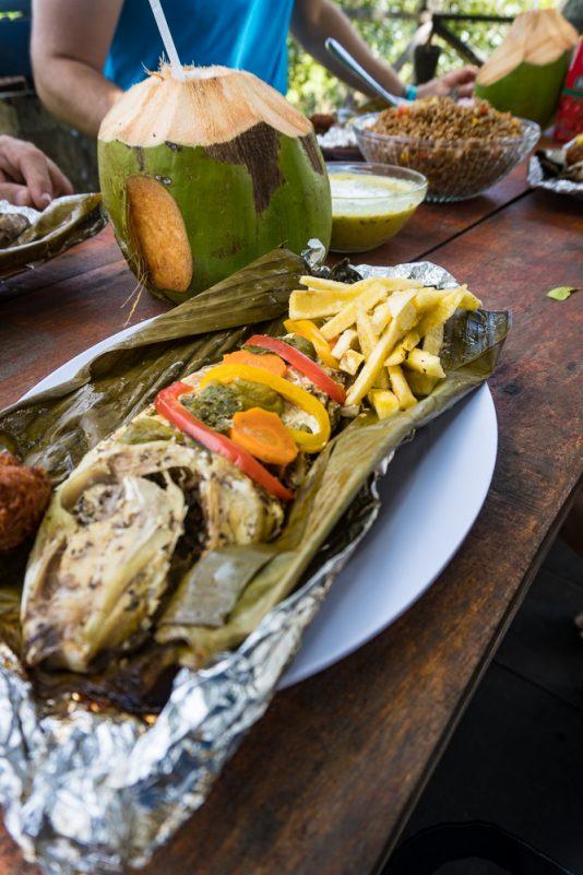 Frischer Fisch bei Ruddy (Foto: T. Pfannkuch)
