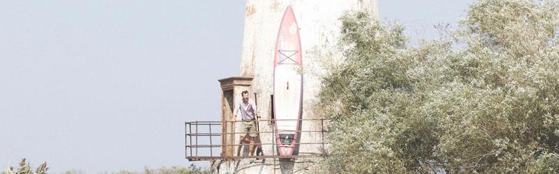 Pascal am Ziel: Der Leuchtturm von Sulina (Quelle: VERY FILM)