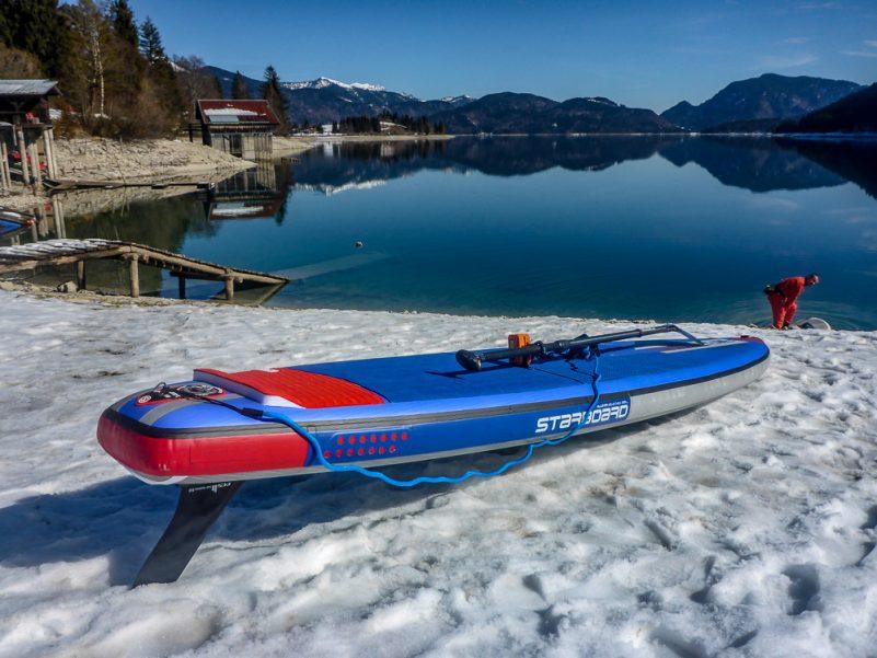 Los geht's in Einsiedl am Walchensee (Foto: T. Pfannkuch)