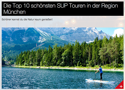 Top 10 SUP-Touren in der Region München