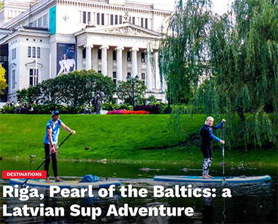Reisebericht Riga im Standup Journal Magazine