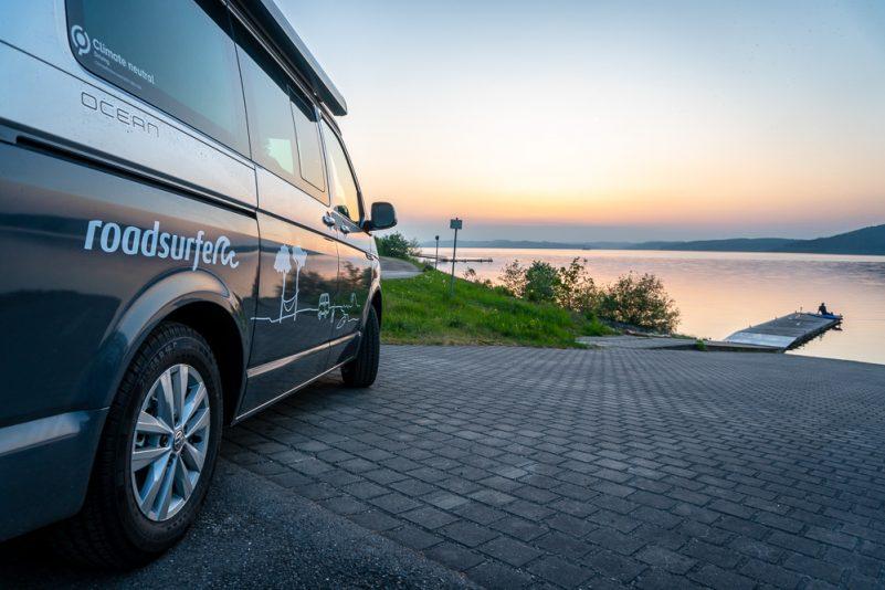 Immer schick für's Foto: VW T6 California Ocean (Foto: T. Pfannkuch)