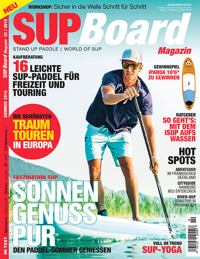 Cover SUP Board Magazin 2/2018