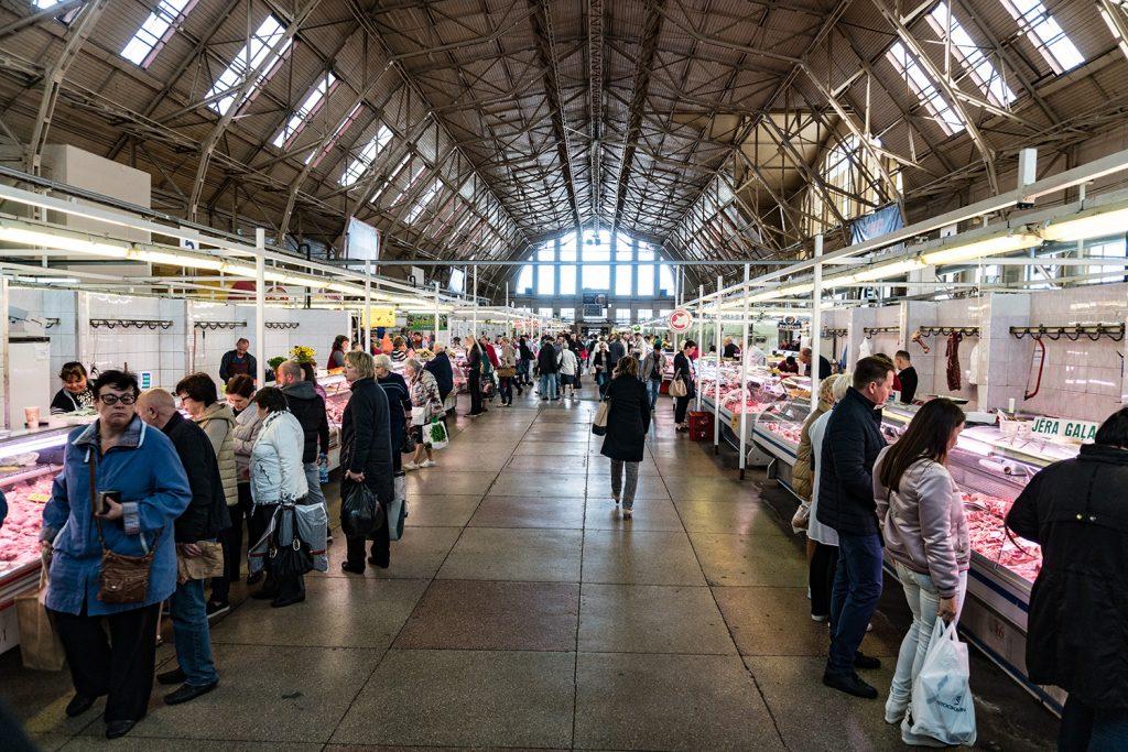 Fisch und Fleisch, Obst und Gemüse: Der Zentralmarkt lässt keine geschmacklichen Wünsche offen
