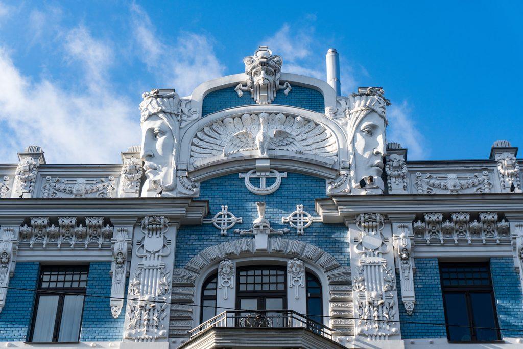 Viele Jugendstilhäuser sind Architekturdenkmäler - und sehen prächtig aus