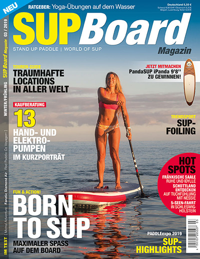 Cover SUP Board Magazin 3/2019