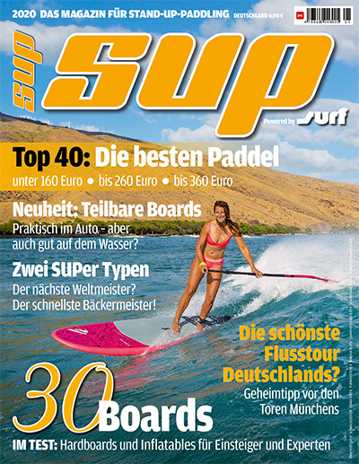 Cover SUP Magazin 1/2019