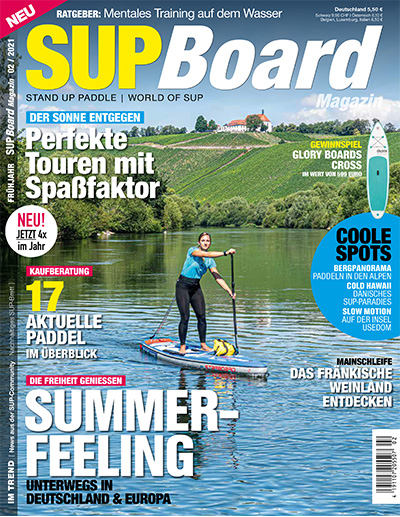 Cover SUP Board Magazin 2/2021