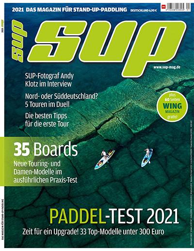 Cover SUP Magazin 1/2021